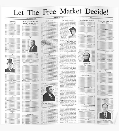 The Free Market Journal Poster