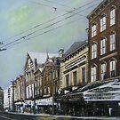 East Main Street from Roanoke Avenue circa 1895, Norfolk, VA by Jsimone