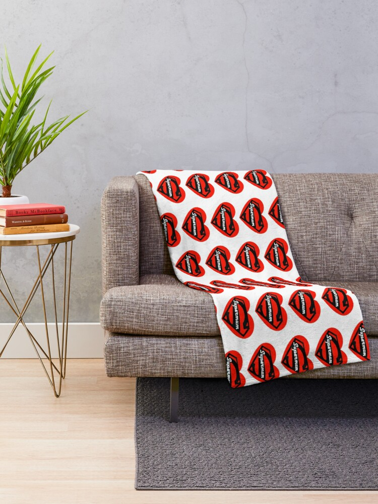 Alternate view of Super Mum Throw Blanket