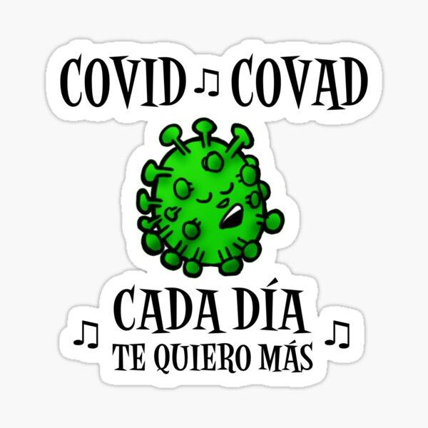 Covid ♫ Covad ♫ Pegatina