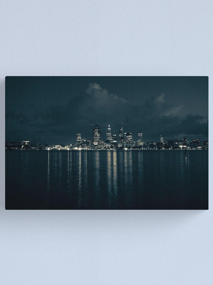 Alternate view of City Lights Canvas Print