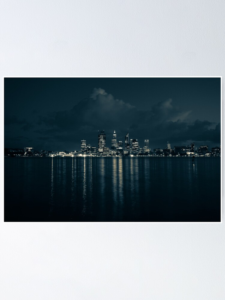 Alternate view of City Lights Poster
