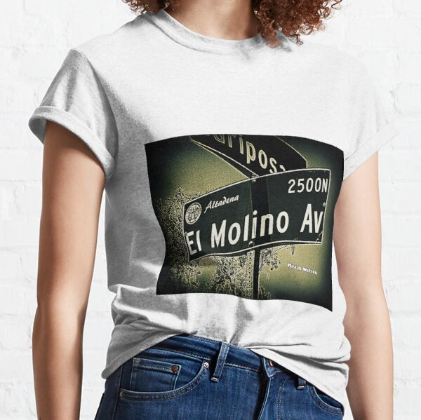 El Molino Avenue, Altadena, CA by Mistah Wilson Classic T-Shirt
