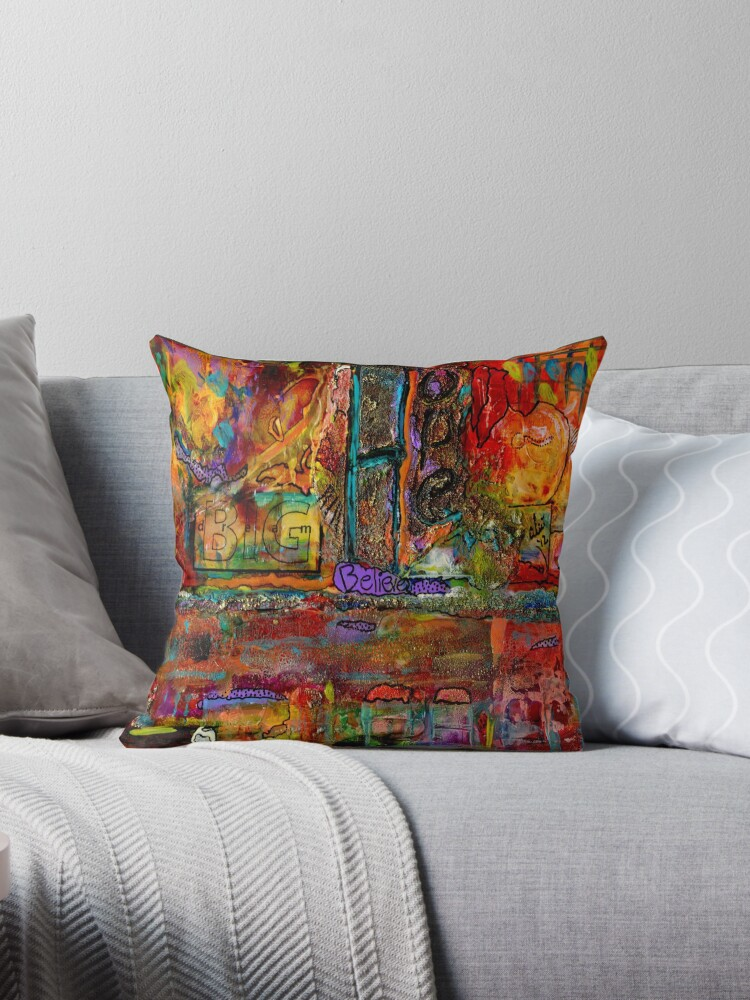 Quot Big Hope And Lots Of Dreams Quot Throw Pillows By 169 Angela L