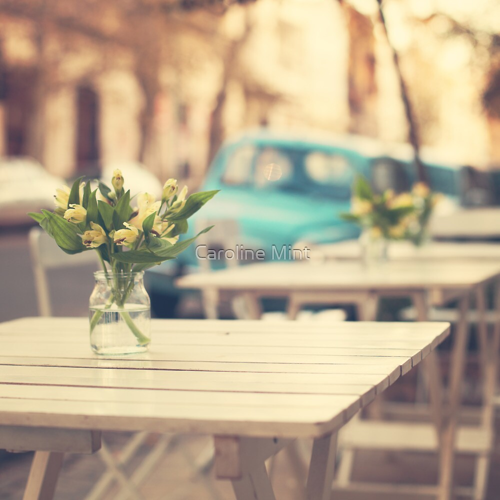 I'm gonna miss you a lot (Retro Pastel Coffee Shop in the Streets) by Caroline Mint