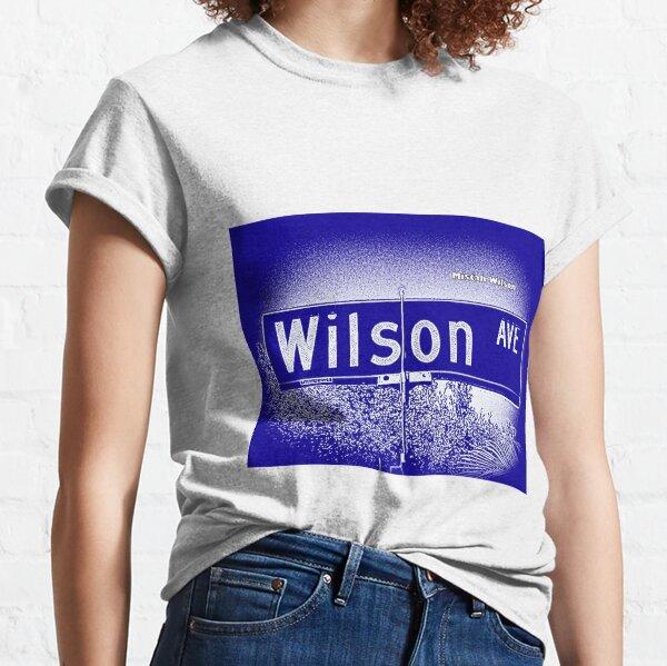 Wilson Avenue, Pasadena, CA ROYALE by Mistah Wilson Classic T-Shirt