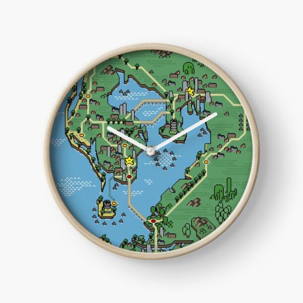 Mushroom Style - Tampa Bay Clock