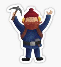 Yukon Cornelius 2015 Sticker