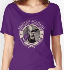 Spartan Academy - Full Color Version Women's Relaxed Fit T-Shirt