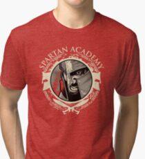Spartan Academy - Full Color Version Tri-blend T-Shirt
