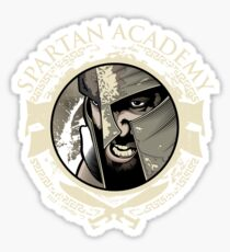 Spartan Academy - Full Color Version Sticker