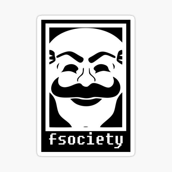 Mr Robot: fsociety logo Sticker