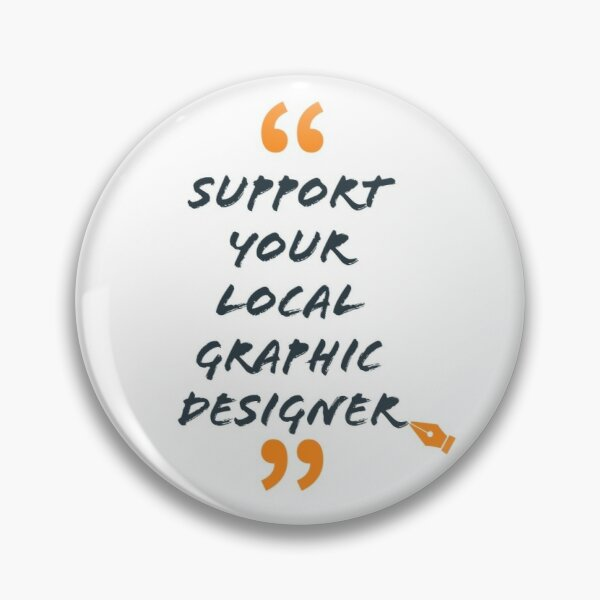 Graphic Designer Pin