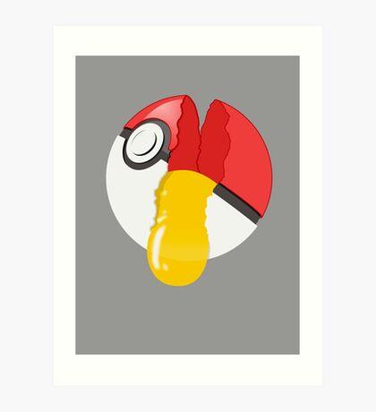 Pukeggball Art Print
