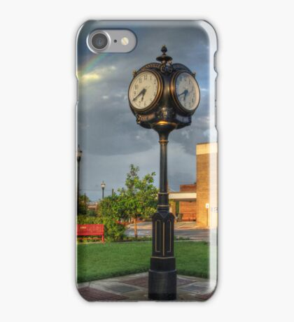 Town Clock iPhone Case/Skin