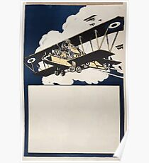 Biplanes 530 Poster