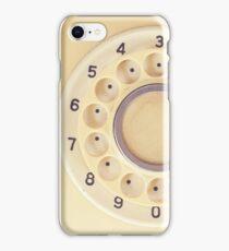 Yellow Retro Telephone  iPhone Case/Skin