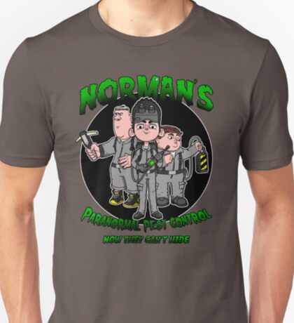 Norman's Paranormal pest control. T-Shirt