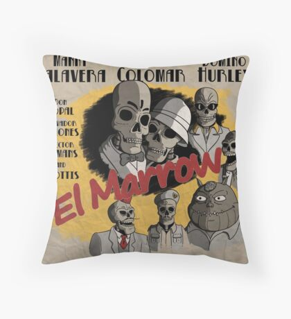 El Marrow. Throw Pillow