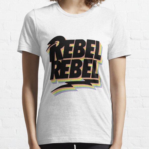 David Bowie - Pride - Rebel Rebel Essential T-Shirt