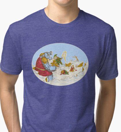 A Chrono to the past  Tri-blend T-Shirt
