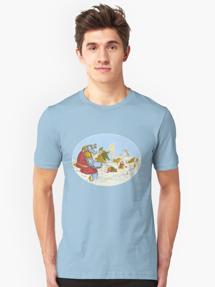 A Chrono to the past  Unisex T-Shirt Front