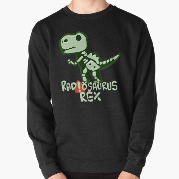 X-ray Tech Gift. Regalo esencial para el trabajador. Radiosaurus rex. Divertido diseño de radiología. Sudadera sin capucha