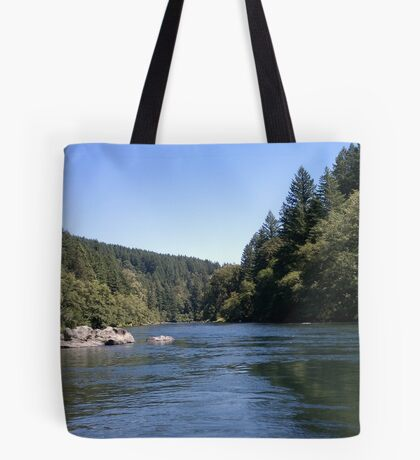 Sunny Day At The River Tote Bag