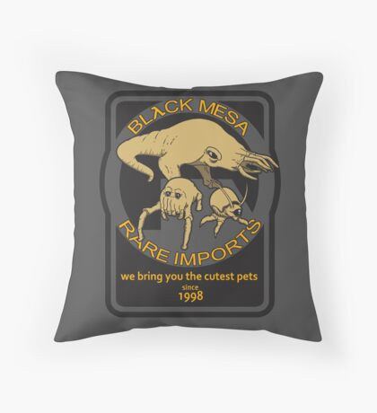 Black Mesa rare imports. Throw Pillow