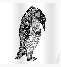 Penguin Illustration Poster