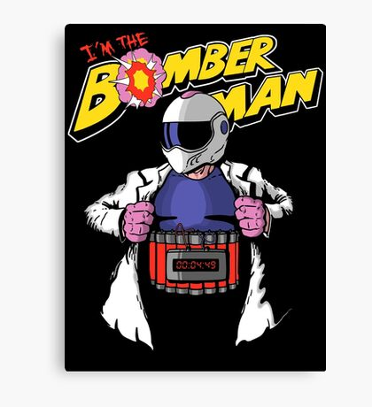 I'm the Bomberman! Canvas Print