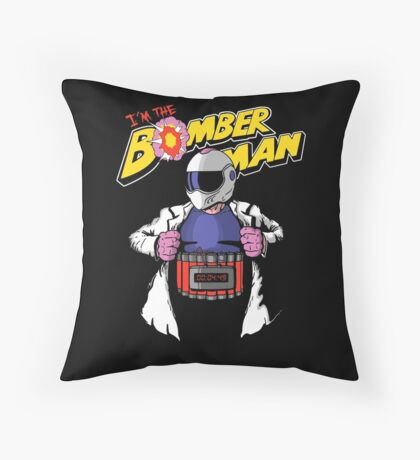 I'm the Bomberman! Throw Pillow