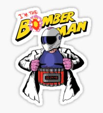 I'm the Bomberman! Sticker