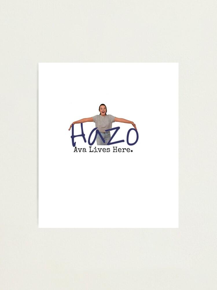Alternate view of Hazelbrook Souvenir Photographic Print