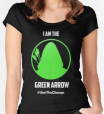 I am the Green Arrow Women's Fitted Scoop T-Shirt