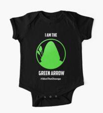 I am the Green Arrow Short Sleeve Baby One-Piece