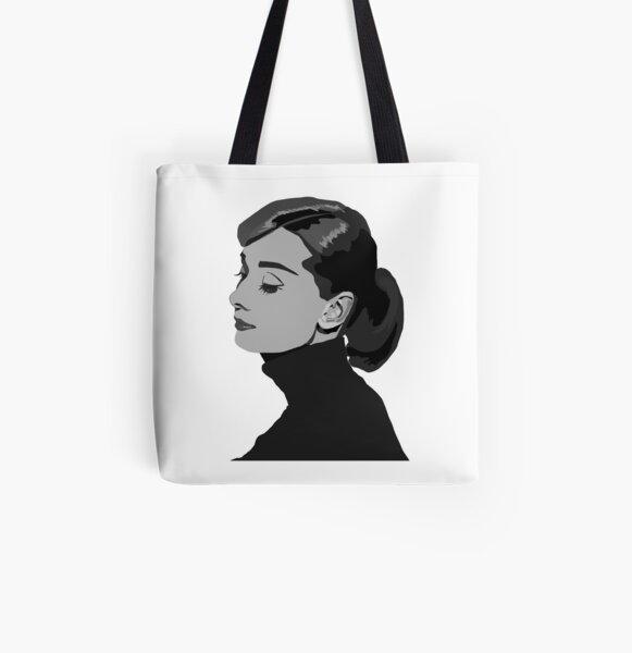Audrey Hepburn Tote bag doublé