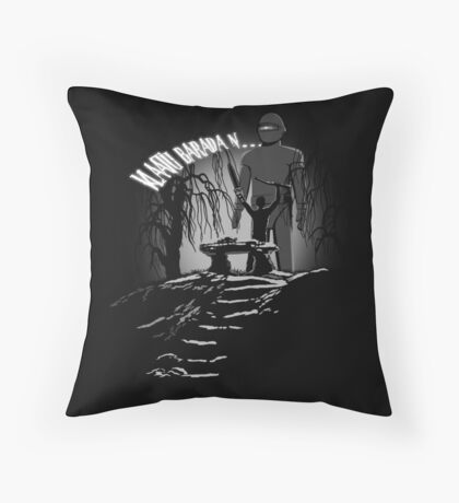 Klaatu Barada N... Throw Pillow