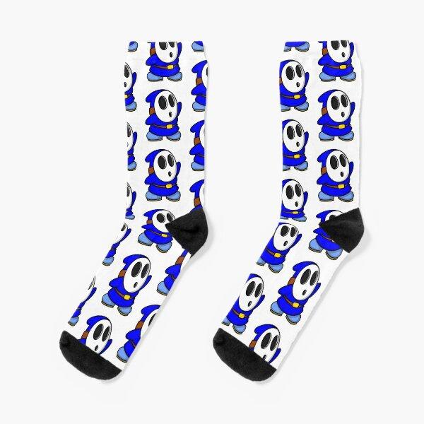 Blue ShyGuy Socks
