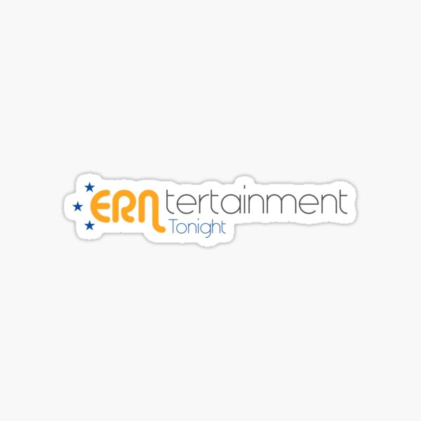ERNtertainment Tonight Merchandise Sticker