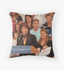Rebecca Kleefisch Side One Throw Pillow