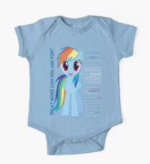 What else could anyone possibly ask for? (Rainbow Dash) One Piece - Short Sleeve