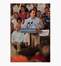 Scott Walker Pronouncing Vowels Photographic Print