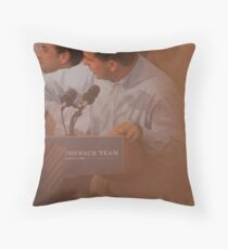 Scott Walkers Bald Spot Throw Pillow
