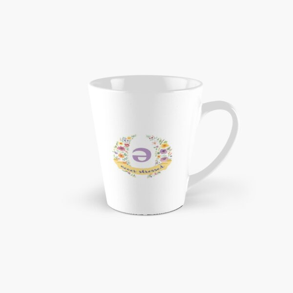 Schwa (never stressed) Floral Tall Mug