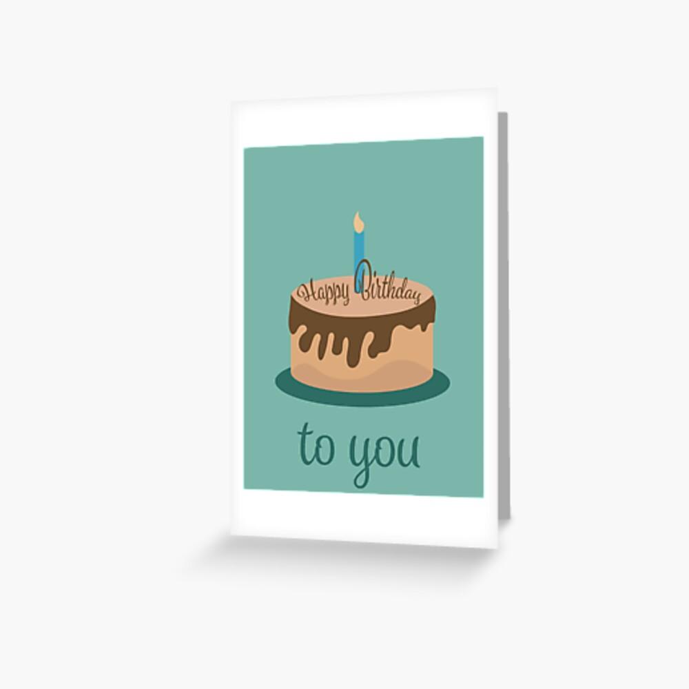 Card: Happy Birthday Greeting Card