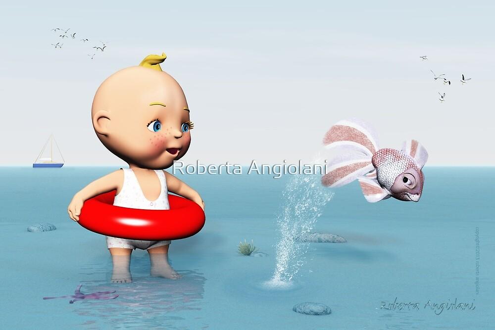 BabyToon and the Fish by Roberta Angiolani