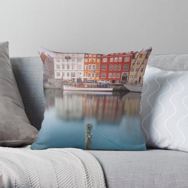 Nyhavn, Copenhagen Throw Pillow