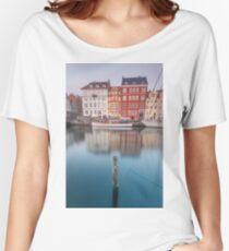 Nyhavn, Copenhagen Women's Relaxed Fit T-Shirt
