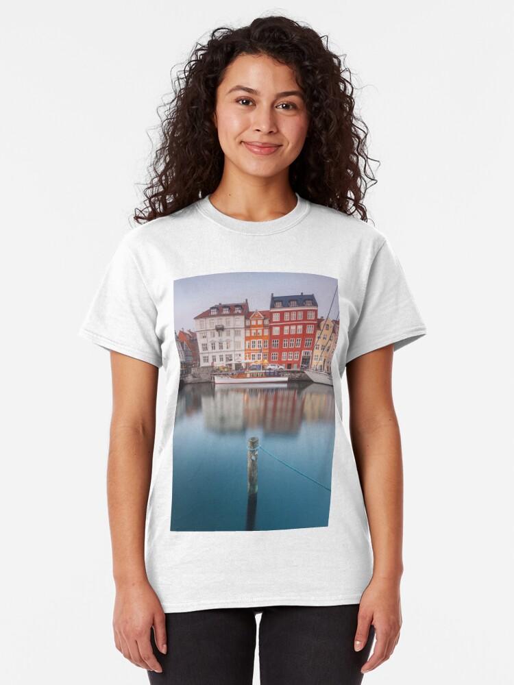 Alternate view of Nyhavn, Copenhagen Classic T-Shirt